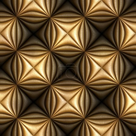 Photo for Leather seamless tileable background pattern - Royalty Free Image