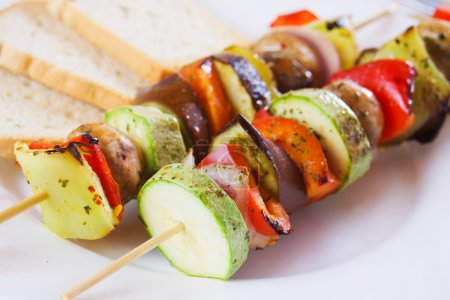 Grilled vegetables