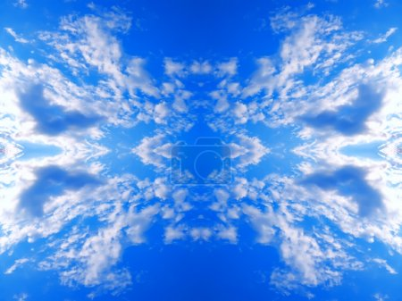 Photo for Abstract clouds sky. - Royalty Free Image