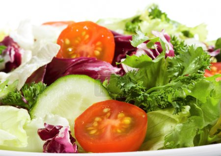 Photo for Salad with vegetables and greens - Royalty Free Image