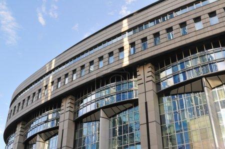 Photo pour Détail du Parlement européen à Bruxelles, Belgique - image libre de droit
