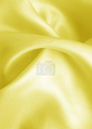 Photo pour Tissu satiné lisse - image libre de droit