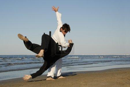 Taekwondo et apkido