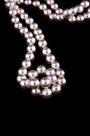 Ivory pearls necklace