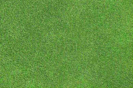 Photo pour Texture de la belle herbe verte du parcours de golf - image libre de droit