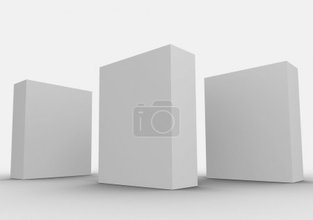 Photo for Generic Box of items for sale at retail - Royalty Free Image