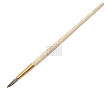 Single artists paint brush