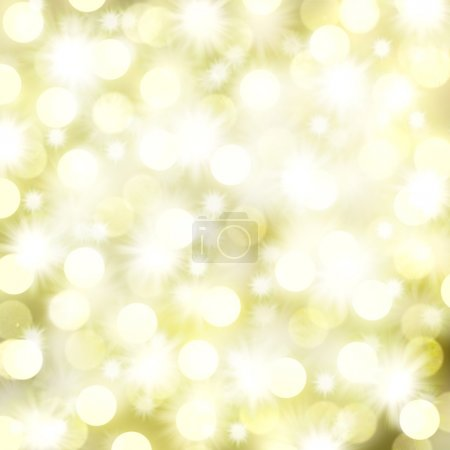 Photo pour Lumières de Noël et étoiles Arrière-plan avec espace texte - image libre de droit