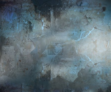 Photo for Image of a Dark Grunge Abstract Textured Background - Royalty Free Image