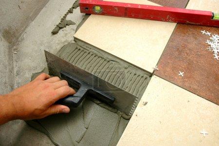 Arranging tiles