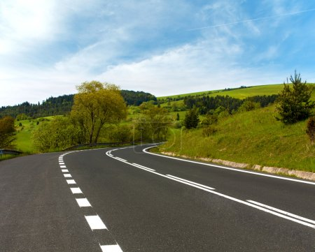 Photo for Scenic Road traveling through mountains - Royalty Free Image
