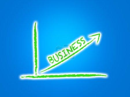Photo pour Croissance des entreprises - image libre de droit