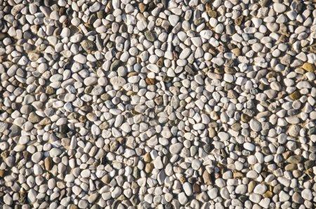 Photo pour Gros plan Pebble stones background - image libre de droit