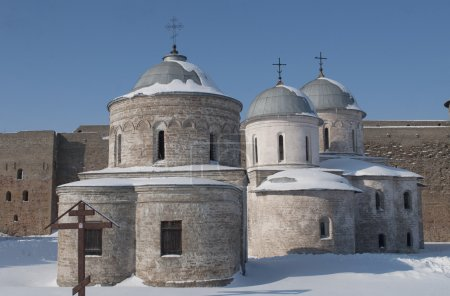 Temples of the Ivangorod fortress.