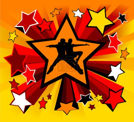 Star dance;