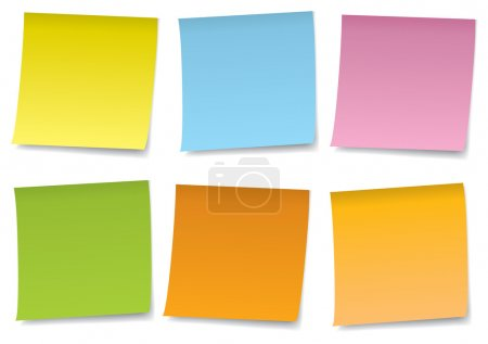 Colorful Notes Set