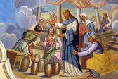 """Постер, картина, фотообои """"брак в Кане Галилейской или свадьба в Кане Галилейской"""""""