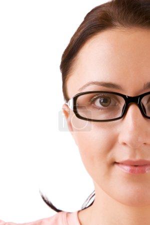 Beautifull girl in glasses