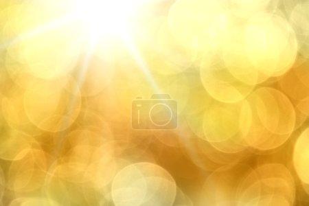 Foto de Abstact borrosa luces naranja. - Imagen libre de derechos