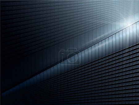 Illustration for Abstract background stylish blue, vector. - Royalty Free Image