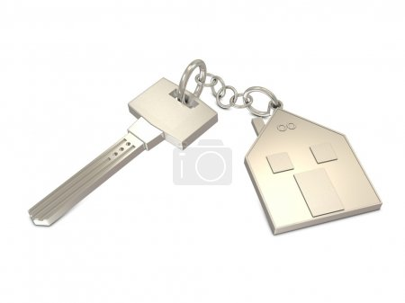 Key and house silver