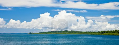 Photo for Panoramic view of Havelock Island, Andaman and Nicobar Islands, India. - Royalty Free Image