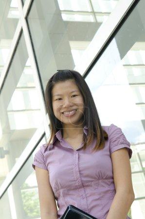 Photo pour Portrait des femmes d'affaires en Asie un - image libre de droit