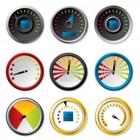 Speedometer set for downloads