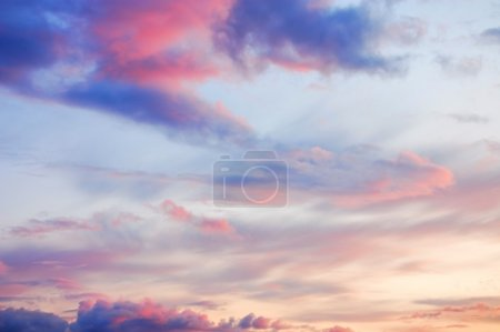 Photo for Wonderful twilight sky background - Royalty Free Image