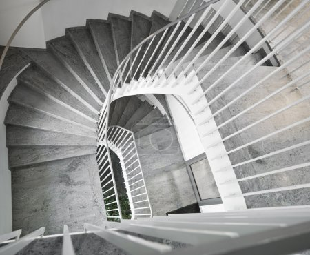 Photo for Staircase with retro Architecture - Royalty Free Image