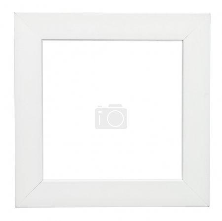 Photo pour Cadre carré isolé sur fond blanc - image libre de droit