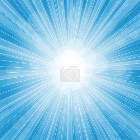 Illustration for Beautiful backround show light sun - Royalty Free Image