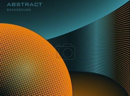 Illustration pour Fond abstrait, vecteur - image libre de droit