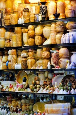Photo for Souvenir shop in Cairo on Khan el Khalili market - Royalty Free Image