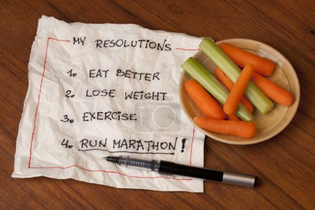 Run marathon resolutions