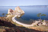 Cape Burkhan, Lake Baikal, island Olkhon. Asia. Russia.