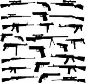 Weapons different