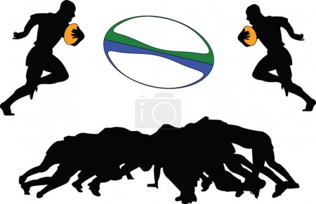 Rugby 2 - vector