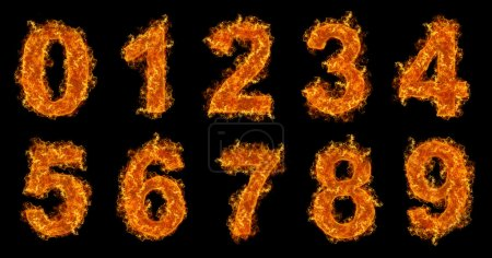 Fire numbers set