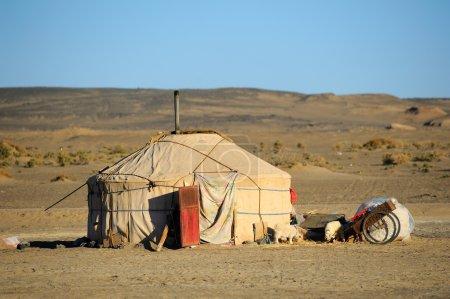 Photo pour Yourte de Mongolie - image libre de droit
