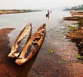 Canoe in Chitwan, Nepal