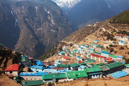 Namche Bazaar in Nepal