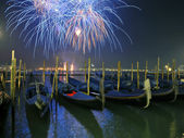 New Year's salute in Venice