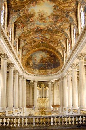 Photo pour Photo de la chapelle du château de Versailles - image libre de droit