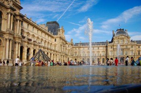 Photo pour Photo Musée du Louvre, Paris - image libre de droit