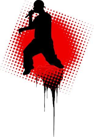 Rap Music Illustration