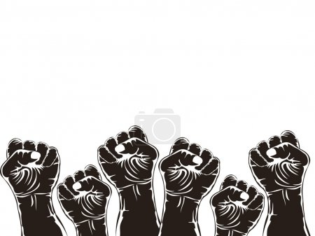 Fist for revolution
