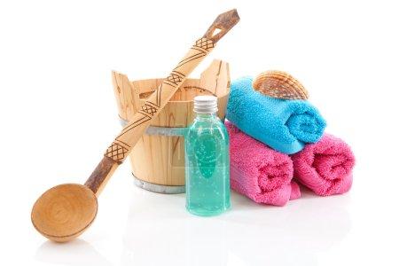 Accessory for spa or sauna
