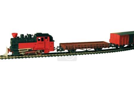 Ferrocarril infantil .