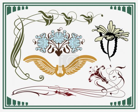 Treasures of art-nouveau design